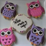 owl themed sugar cookies
