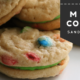 M & M Cookie Sandwiches