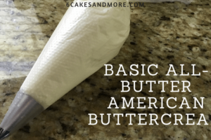 Basic All-Butter American Buttercream
