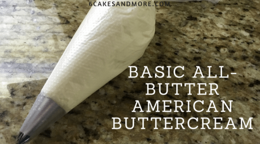Basic All-Butter American Buttercream