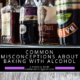 Common misconceptions about baking with alcohol
