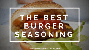 the best burger seasoning