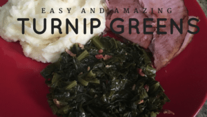 Easy Turnip Mustard Greens