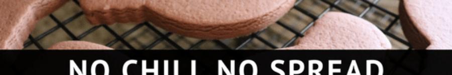 No Chill No Spread Chocolate Sugar Cookies