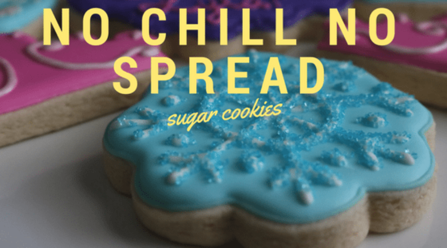Foolproof No Chill No Spread Sugar Cookies