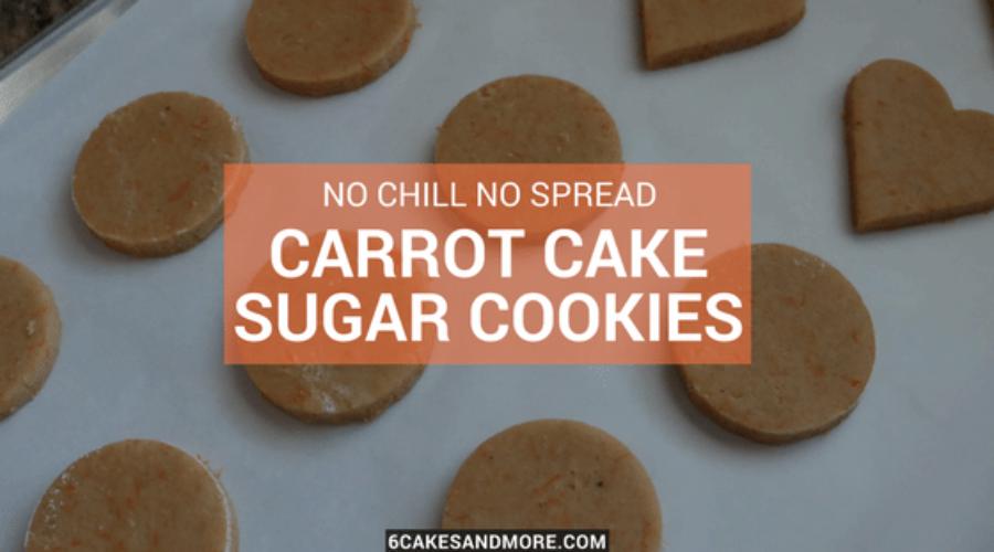 Carrot Cake Sugar Cookies