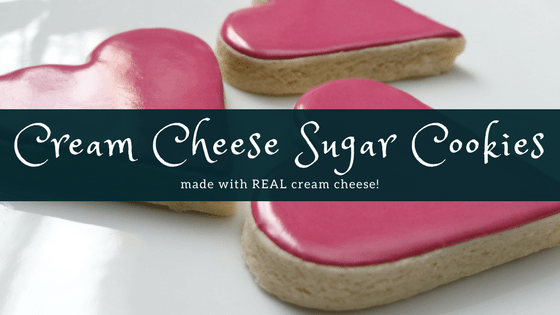 Perfect Cream Cheese Sugar Cookies