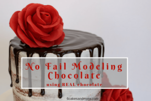 No Fail Modeling Chocolate