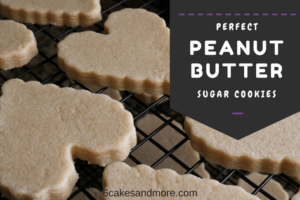 Perfect Peanut Butter Sugar Cookies