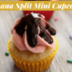 Banana Split Mini Cupcakes