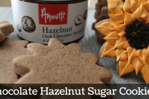 Chocolate Hazelnut Sugar Cookies