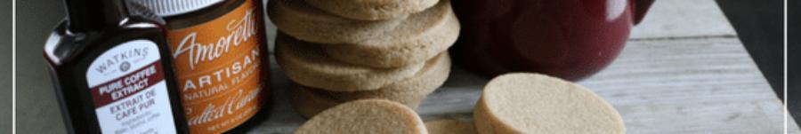 Caramel Macchiato Sugar Cookies
