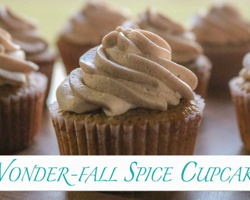 Wonder-Fall Spice Cupcakes by 6cakesandmore