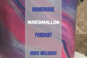 Homemade Marshmallow Fondant