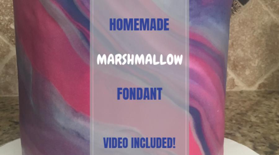 HOMEMADEMarshmallowFONDANT