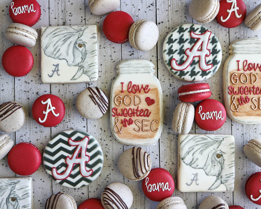 alabama macarons and cookies by 6cakesandmore