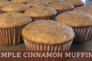 Simple Cinnamon Muffins